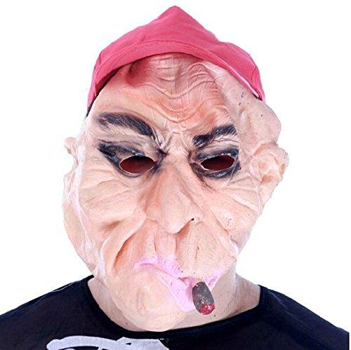 Blancho Fumer Man fête d'halloween Masque Mascarade Masque Masque de Cosplay