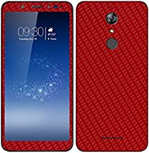 VcareGadGets Front and Back Full Body Skin Carbon for Micromax Infinity Canvas (Red)