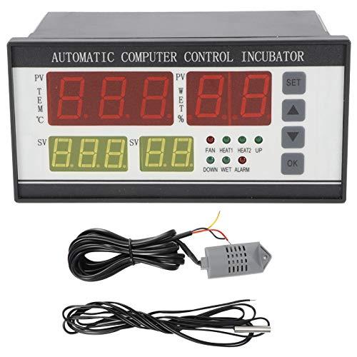 Fybida Termostato automático para incubadora de Huevos, 220 V, Alta precisión, Mejora la eficiencia de la incubación, Controlador automático de incubadora para incubación