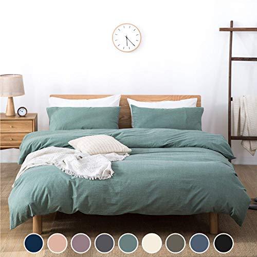gr/ün The Little Green Sheep BD015E Bio-Baumwolle 3pc Rabbit Crib Bedding Set