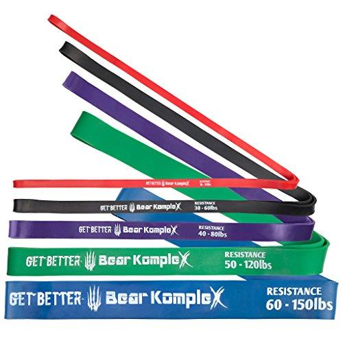 "Bear KompleX Resistance Band - #2 Black- 30 to 60 Pounds (3/4"")"