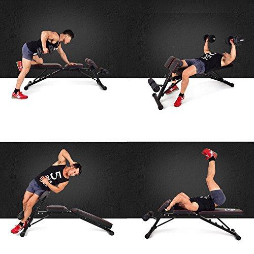 WASAI(ワサイ)バックエクステンションベンチマルチトレーニングベンチ(サイドベント/アームカール)【フラット/インクライン/デクライン】腕筋/背筋/腹筋/筋トレMK038(black001)