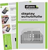 dipos 2X Matte Schutzfolie für Siemens EQ.6 TE603501DE Series 300 Tropfblech I Kaffeevollautomaten I Abtropfblech I Abtropfgitter für Kaffee-Maschine