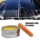 FidgetKute N3 Solid Pure Carnauba Car Wax Paint Polish Auto Body Care Scratches