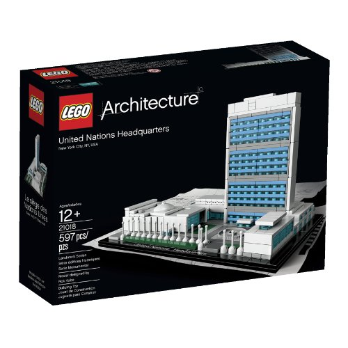 LEGO Architecture 21018 United Nations Headquarters Lego architecture char key UN headquarters (japan import)