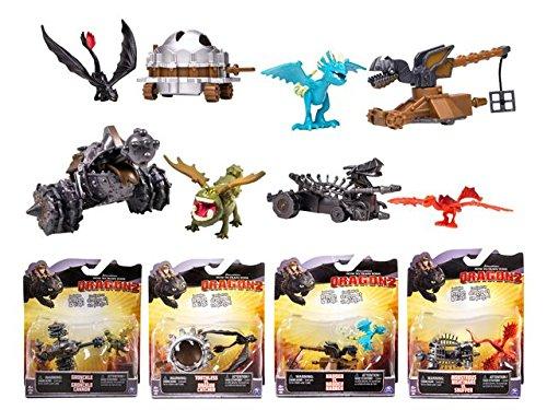 Dragons - 0399036 - Figurine - Pack Dragons Battle - Modèle Aléatoire