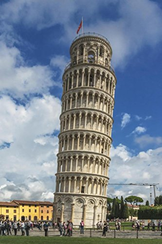 Leaning Tower of Pisa Italy Photo Photograph Cool Wall Decor Art Print Poster 24x36