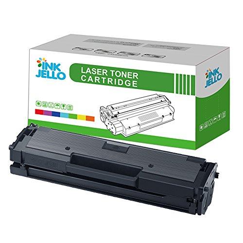 InkJello kompatibel Toner Patrone Ersatz für Samsung Xpress SL-M2020 SL-M2020W SL-M2022 SL-M2022W SL-M2026 SL-M2026W SL-M2070 SL-M2070F SL-M2070FW SL-M2070W MLT-D111S (Schwarz, 1-Pack)