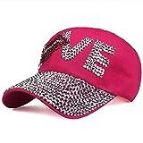 N\A Gorra de Beisbol Gorra De Béisbol para Mujer, Sombrero para El Sol, Sombrero De Vaquero, Gorra Elástica