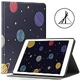 Étui pour iPad Mercury Travel Around Planet Fit 2018/2017, iPad 5e/6e génération, iPad 9,7',...