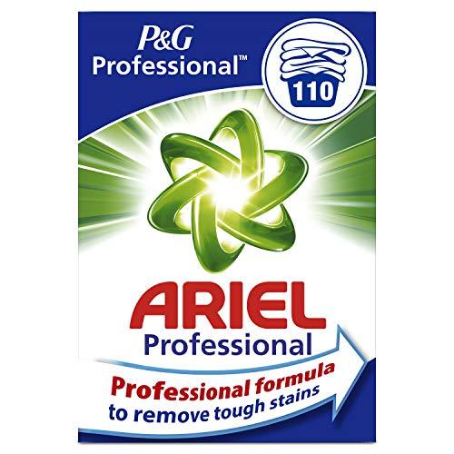 Ariel Professional 4084500911505 Detersivo Polvere per Bianchi e Colorati, 110 Lavaggi, 7 Kg