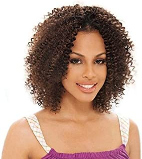 BOHEMIAN CURL 12'' - Shake N Go Freetress Equal Synthetic Hair Weave Extensions #4 Medium Brown