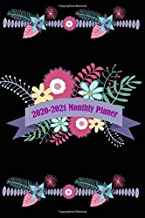 2020-2021 Monthly Planner: Twenty-Four Month Calendar