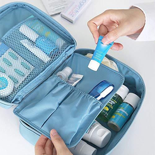 HUKZ Reise Kosmetik Make-up Kulturbeutel Tasche Wash Organizer Storage Pouch Handtasche(Größe: 220...