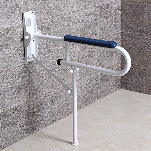 SHOP YJX WC-Handlauf-Barriere-freier Handlauf ältere Behinderte Handlauf-Badezimmer-Folding-Handlauf 60x70cm