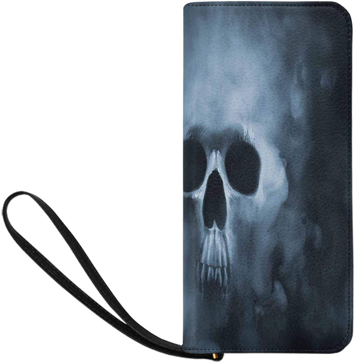 INTERESTPRINT Branded goods Scary Skull San Francisco Mall Emerging From Smoke Wristle a Cloud of