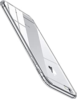 【Humixx】 iPhone6s ケース iPhone6ケース [ スリム ライト ] [ レンズ保護 衝撃 吸収 ] [ 一体感 ボタン保護 ] [ ガラスフィルム 付き ] ( iPhone 6s , iPhone 6 , クリア )[Skin Series]
