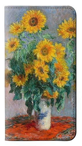 RW2937 Claude Monet Bouquet of Sunflowers Flip Case Cover For IPHONE 5 5S SE