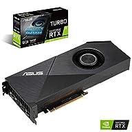 ASUS GeForce RTX 2070 8G EVO Turbo Edition GDDR6 HDMI DP 1.4 Graphics Card (TURBO-RTX2070-8G-EVO)