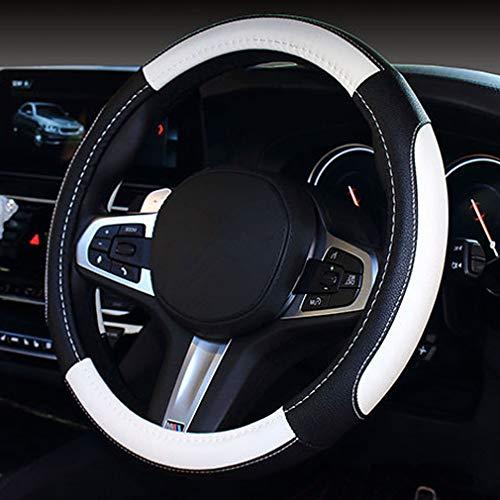 Pahajim Protector Antideslizante Transpirable Universal de 38 cm para Auto, Cubierta del Volante del Automóvil