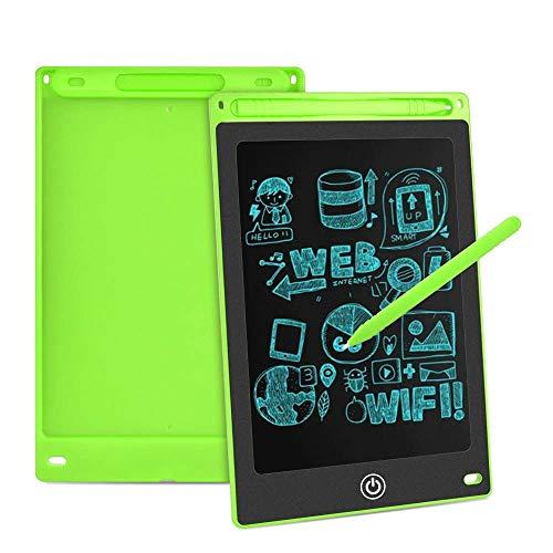 Aigoss LCD Schreibtafel 8,5 Zoll Elektronische Schreibtabletts Grafiktabletts Löschbare Zeichnung Graffiti Board Notepad mit Anti-Clearance Funktion und Stift Kinder Spielzeug Geschenk - Grün