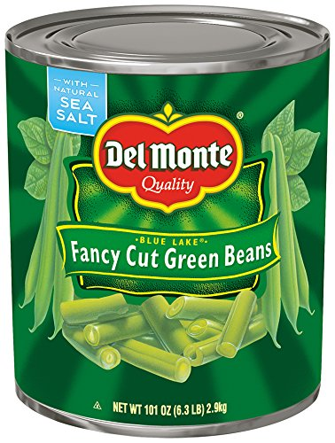 Del Monte Canned Blue Lake Green Beans, 101 Ounce (Pack of 6)