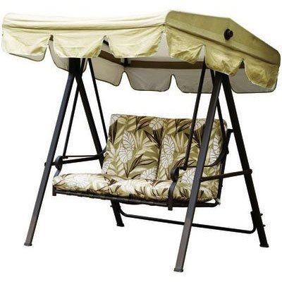 Garden Winds 2009 Paradise Swing Replacement Canopy Top Cover - RipLock