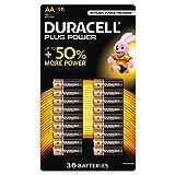 Duracell Pilas AA, paquete de 36