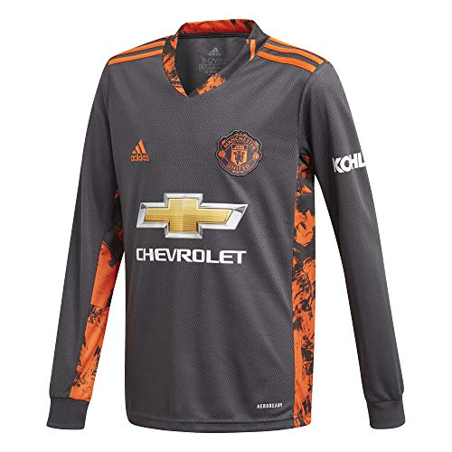 adidas Manchester United Temporada 2020/21 MUFC H GK JSY Y Camiseta Portero...