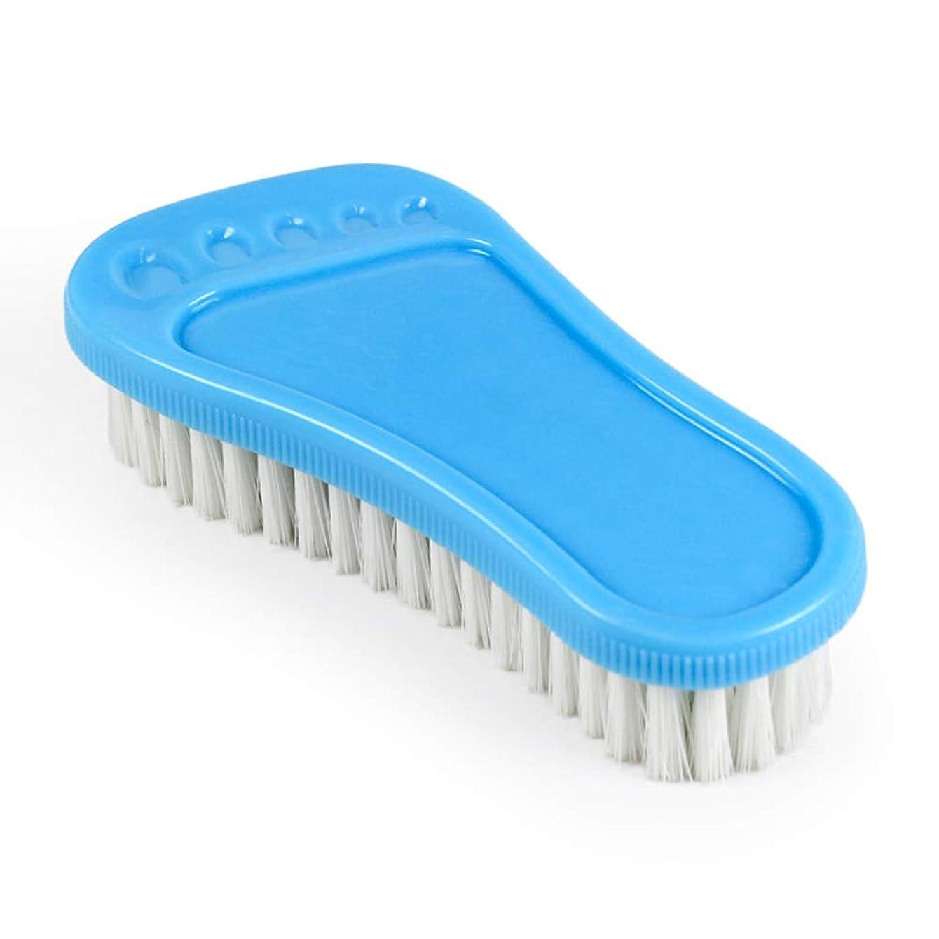 世界的に祝う生ポアクリーニング 小さな足首プラスチックの柔らかい髪多目的靴のブラシ洗面器のブラシのクリーニングブラシバスのブラシ2 PCS マッサージブラシ