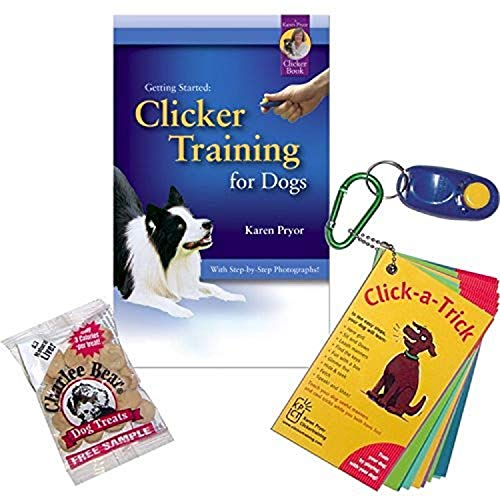 Karen Pryor Getting Started: Clicker Training for Dogs Kit