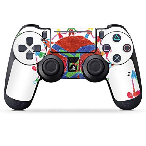DeinDesign Skin kompatibel mit Sony Playstation 4 Slim PS4 Controller Aufkleber Folie Sticker Kinder Zeichnung Kiona