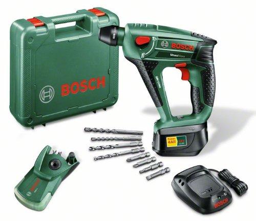 Bosch Uneo Maxx - Martillo rotatorio (Ión de litio, 18V, 1 kg, Negro, Verde)