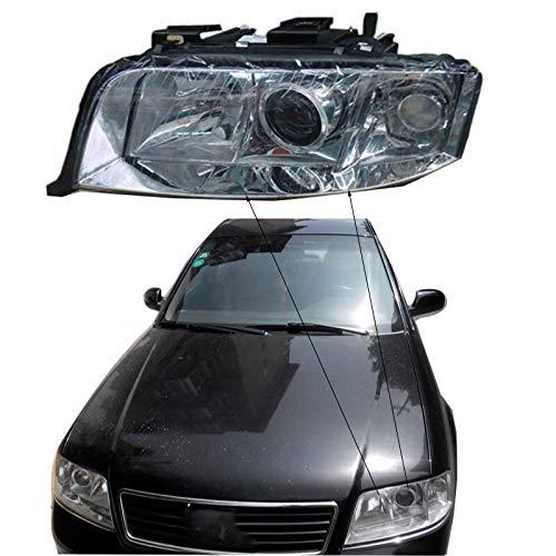 Autoscheinwerfer Clear Cover Objektivabdeckung gepasst Fit For Audi A6 C5 2003 -2005 Objektiv Frontscheinwerfer Scheinwerfer Glaslampenschirm Shell Lampenabdeckung transparent Masken Motorhaube Wrap S