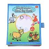 Kinder Wasser Zeichenbuch Magie Färbung Malerei Tuch Buch mit Wasser Zeichenstift Kinder Früherziehung Spielzeug -