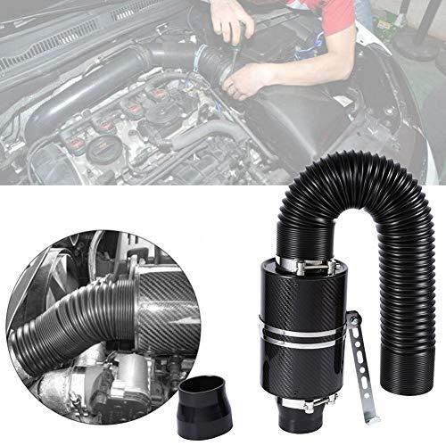 'Intake Air Filter caja filtro aire Rubber Intake Flow Pantalones Pipe Aire fría Filtro Serie 3Box, Universal
