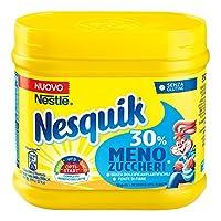 Nestle - la Boîte 350 g - Chocolat en Poudre Moins de Sucre Nesquik