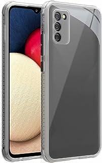 جراب Doao لهاتف Oppo Reno6 Pro + 5G (+حامل الهاتف الدائري)، جل مطاطي شفاف مقاوم للخدش، جراب خلفي شفاف صلب لهاتف Oppo Reno6...
