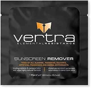 Vertra Sun Screen Makeup Removing Wipes