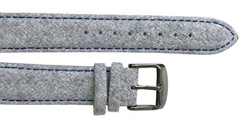 UHRTRACHT - Wechselarmband Filz mit Silber, Verschiedene Varianten mit Quick Release - passend zur T