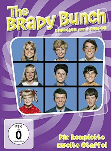 The Brady Bunch/Drei Mädchen und drei Jungen - Staffel 2 (4 DVDs)