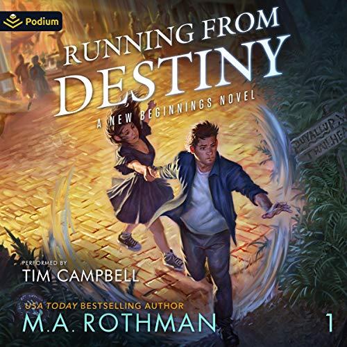 Running from Destiny cover art