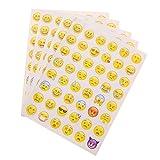 YNuth DIY 5pz Adesivi Adesivo Sticker Emoji Decorazione Diario Calendario Creative Divertente per Scrapbook