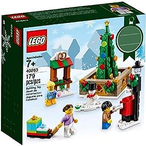 Amazon.co.jp - レゴ  クリスマスタウンスクエア 40263