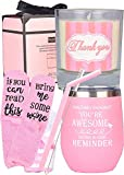Thank You Gifts, Thanks for Being Awesome, Thank You Gifts for Women, Appreciation Gifts Cup,Sometimes You Forget You're Awesome So This Is Your Reminder, Inspirational Gifts for Women