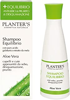 Planter's - Shampoo Equilibrio all'Aloe Vera. Shampoo antiforfora e anti-sebo, dona sollievo in caso di capelli grassi e p...