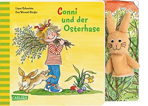 Conni-Bilderbücher: Conni und der Osterhase: Pappenbuch mit Fingerpuppe