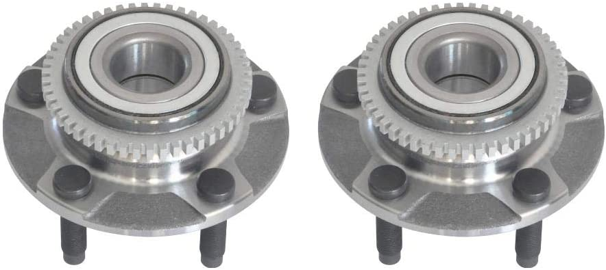 IINAWO 1 Pair Ranking TOP11 Set Front Left Right Side Max 58% OFF Bearing Asse Wheel Hub
