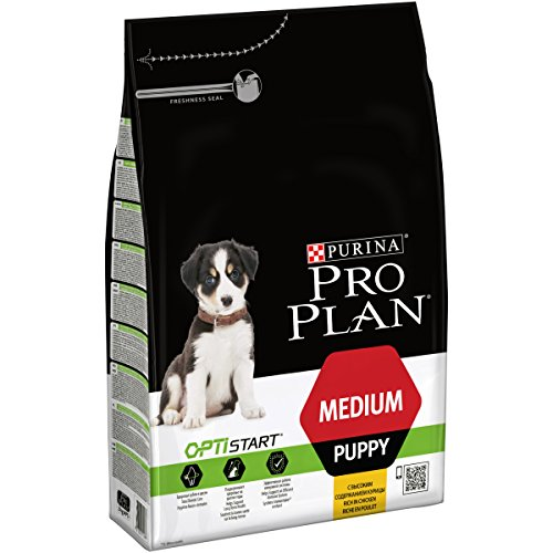 Purina PRO Plan Dog Optistart Puppy Medium 1 sacco da 3Kg Mangimi Secchi per Cani, Multicolore, Unica