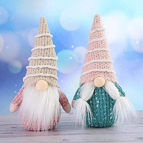 HeiHeiDa Rainbow Dwarf Doll Plush Toy Summer Cute Dwarf Doll Colorful Striped Toy Birthday Gift